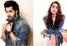 Bollywood acteurs Varun Dhawan en Sara Ali Khan in remake Coole No.1