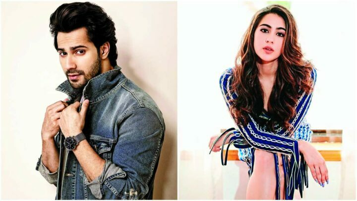 Bollywood acteurs Varun Dhawan en Sara Ali Khan in remake Coole No.1