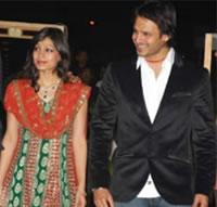 Bollywood - Vivek Oberoi treedt in het huwelijk